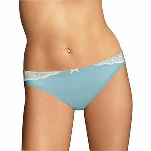 Maidenform Comfort Devotion Lace Trim Bikini 40046